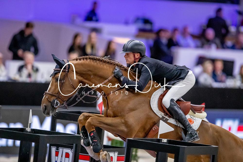 Guery Jerome, BEL, Eras Ste Hermelle<br /> JIM Maastricht 2019<br /> Van Mossel Prix<br /> © Dirk Caremans<br />  09/11/2019