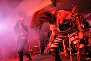 BAND OF BLACK METAL  GOAT SEMEN IN CONCERT