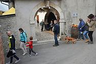 Festa della Castagna, i Marroni di Castione, Dop, Brentonico di Castione 21 ottobre 2017 © foto Daniele Mosna,