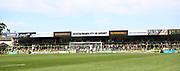 The North Stand during the EFL Sky Bet League 2 match between Forest Green Rovers and Colchester United at the New Lawn, Forest Green, United Kingdom on 14 September 2019.