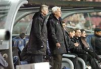 Fotball<br /> Veldedighetskamp for ofrene etter tsunamien i Asia<br /> Football for hope<br /> 15. februar 2005<br /> Nou Camp - Barcelona<br /> Foto: Digitalsport<br /> NORWAY ONLY<br /> ARSENE WENGER / MARCELLO LIPPI  (CHEVCHENKO XI COACH)