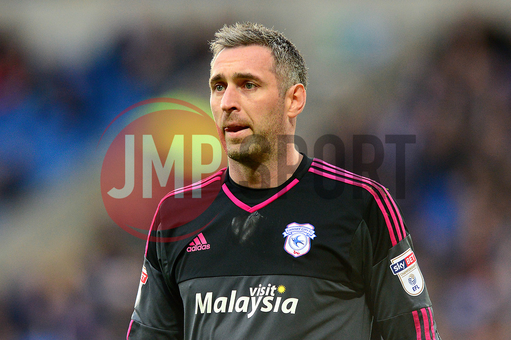 Allan McGregor of Cardiff City - Mandatory by-line: Dougie Allward/JMP - 28/04/2017 -  FOOTBALL - Cardiff City Stadium - Cardiff, Wales -  Cardiff City v Newcastle United - Sky Bet Championship