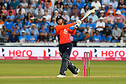Jonny Bairstow of England batting during the International T20 match between England and India at the SWALEC Stadium, Cardiff, United Kingdom on 6 July 2018. Picture by Graham Hunt.
