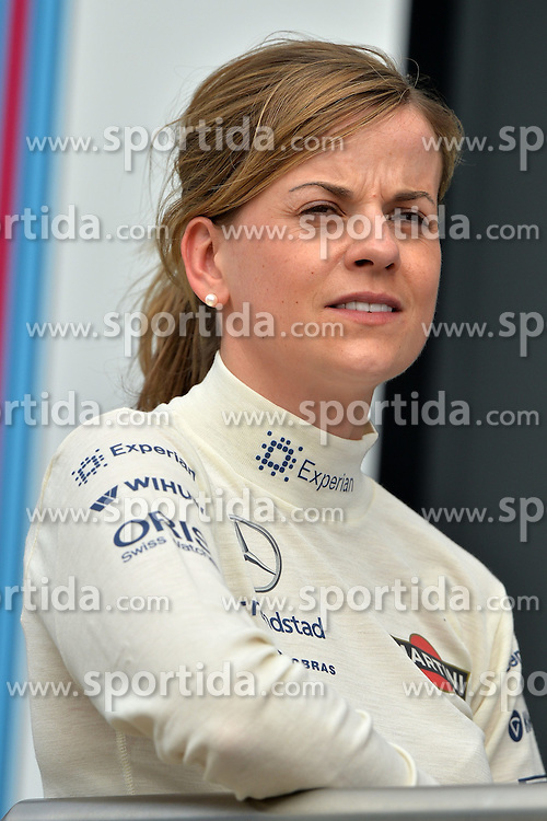 03.07.2014, Silverstone Circuit, Silverstone, ENG, FIA, Formel 1, Grand Prix von Grossbritannien, Vorberichte, im Bild Susie Wolff (GBR) Williams Development Driver // during the preperation of British Formula One Grand Prix at the Silverstone Circuit in Silverstone, Great Britain on 2014/07/03. EXPA Pictures &copy; 2014, PhotoCredit: EXPA/ Sutton Images<br /> <br /> *****ATTENTION - for AUT, SLO, CRO, SRB, BIH, MAZ only*****