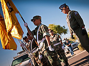 30 MAY 2011 - PHOENIX, AZ: A Vietnamese Honor Guard unit at Memorial Day services in the National Memorial Cemetery in Phoenix, AZ, Monday. Memorial Day was celebrated with services across the United States Monday.    Photo by Jack Kurtz