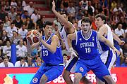 LIGNANO SABBIADORO, 15 LUGLIO 2015<br /> BASKET, EUROPEO MASCHILE UNDER 20<br /> ITALIA-ISRAELE<br /> NELLA FOTO: Simone Fontecchio<br /> FOTO FIBA EUROPE/CASTORIA