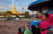 Laos, Vientiane. Pha That Luang.