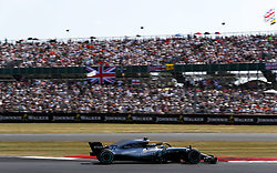 July 8, 2018 - Silverstone, Great Britain - Motorsports: FIA Formula One World Championship 2018, Grand Prix of Great Britain, ..#77 Valtteri Bottas (FIN, Mercedes AMG Petronas Motorsport) (Credit Image: © Hoch Zwei via ZUMA Wire)