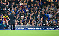 Manager Jose Mourinho of Chelsea during the UEFA Champions League match at Stamford Bridge, London<br /> Picture by Alan Stanford/Focus Images Ltd +44 7915 056117<br /> 04/11/2015