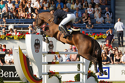Rivetti Cassio, (UKR), Vivant<br /> Individual competition round 3 and Final Team<br /> FEI European Championships - Aachen 2015<br /> © Hippo Foto - Dirk Caremans<br /> 21/08/15