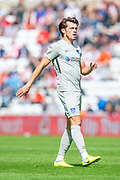 John Marquis (#10) of Portsmouth FC during the EFL Sky Bet League 1 match between Sunderland and Portsmouth at the Stadium Of Light, Sunderland, England on 17 August 2019.