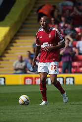 Nottingham Forest's Kelvin Wilson   - Photo mandatory by-line: Nigel Pitts-Drake/JMP - Tel: Mobile: 07966 386802 25/08/2013 - SPORT - FOOTBALL -Vicarage Road Stadium - Watford -  Watford v Nottingham Forest - Sky Bet Championship