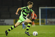 Forest Green Rovers Jordan Stevens(8) runs forward during the The FA Youth Cup match between Bristol Rovers and Forest Green Rovers at the Memorial Stadium, Bristol, England on 2 November 2017. Photo by Shane Healey.