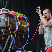 WASHINGTON, DC - September 26th, 2015 - Dan Deacon performs at the 2015 Landmark Festival in Washington, D.C.  (Photo by Kyle Gustafson / For The Washington Post)