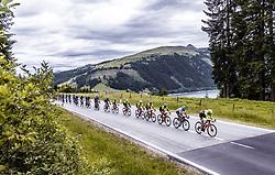 11.07.2019, Kitzbühel, AUT, Ö-Tour, Österreich Radrundfahrt, 5. Etappe, von Bruck an der Glocknerstraße nach Kitzbühel (161,9 km), im Bild Pelton in den Bergen // Pelton in den Bergen during 5th stage from Bruck an der Glocknerstraße to Kitzbühel (161,9 km) of the 2019 Tour of Austria. Kitzbühel, Austria on 2019/07/11. EXPA Pictures © 2019, PhotoCredit: EXPA/ JFK