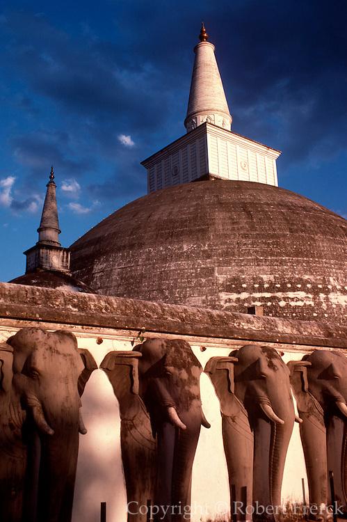 SRI LANKA, ANURADHAPURA 4thc.BC, Buddhist, Ruvaneliseya Dagaba