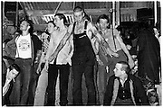 National Front invade stage at Rock Against Racism Gig - London 1981
