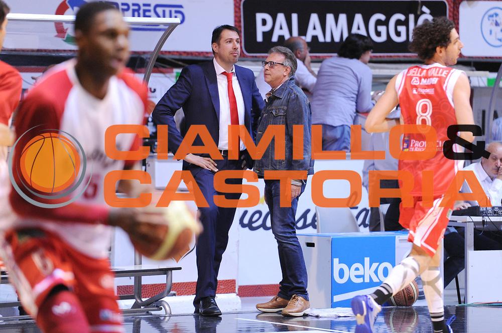 DESCRIZIONE : Caserta Lega A 2014-15 <br /> Pasta Reggia Caserta - Grissin Bon Reggio Emilia GIOCATORE : Alessandro Frosini<br /> CATEGORIA : pre game direttore sportivo<br /> SQUADRA : Grissin Bon Reggio Emilia<br /> EVENTO : Campionato Lega A 2014-2015 <br /> GARA : Pasta Reggia Caserta - Grissin Bon Reggio Emilia<br /> DATA : 03/05/2015<br /> SPORT : Pallacanestro <br /> AUTORE : Agenzia Ciamillo-Castoria/N. Dalla Mura<br /> Galleria : Lega Basket A 2014-2015  <br /> Fotonotizia : Caserta Lega A 2014-15 Pasta Reggia Caserta - Grissin Bon Reggio Emilia