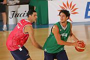 DESCRIZIONE : Bormio Ritiro Nazionale Italiana Maschile Preparazione Eurobasket 2007 Allenamento <br /> GIOCATORE : Luca Vitali<br /> SQUADRA : Nazionale Italia Uomini EVENTO : Bormio Ritiro Nazionale Italiana Uomini Preparazione Eurobasket 2007 GARA :<br /> DATA : 24/07/2007 <br /> CATEGORIA : Allenamento <br /> SPORT : Pallacanestro <br /> AUTORE : Agenzia Ciamillo-Castoria/S.Silvestri <br /> Galleria : Fip Nazionali 2007 <br /> Fotonotizia : Bormio Ritiro Nazionale Italiana Maschile Preparazione Eurobasket 2007 Allenamento <br /> Predefinita :