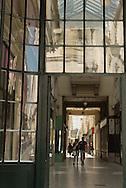 France, Paris. 9th district . Passage Choiseul Historical Covered passages of Paris,