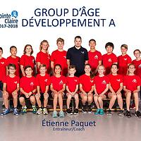 GROUP D'ÂGE DÉVELOPPEMENT A