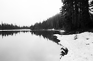 View of Reflection Lakes - Mt. Rainier National Park, WA