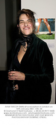 Artist TRACEY EMIN at a reception in London on 16th January 2001.	OKL 34