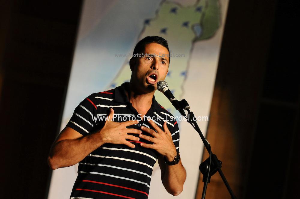 Nadav Abukasis Israeli Standup Comedian and actor