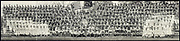 World War I Panoramas <br /> <br /> These long panoramic photographs show U. S. military personnel and camps, patriotic parades, and European battlefields and cemeteries related to WWI.<br /> <br /> PHOTO SHOWS: Officers, nurses, and hospital corps, Base Hospital, Camp MacArthur, Waco, Texas, June 4, 1918 <br /> ©Library of Congress/Exclusivepix Media