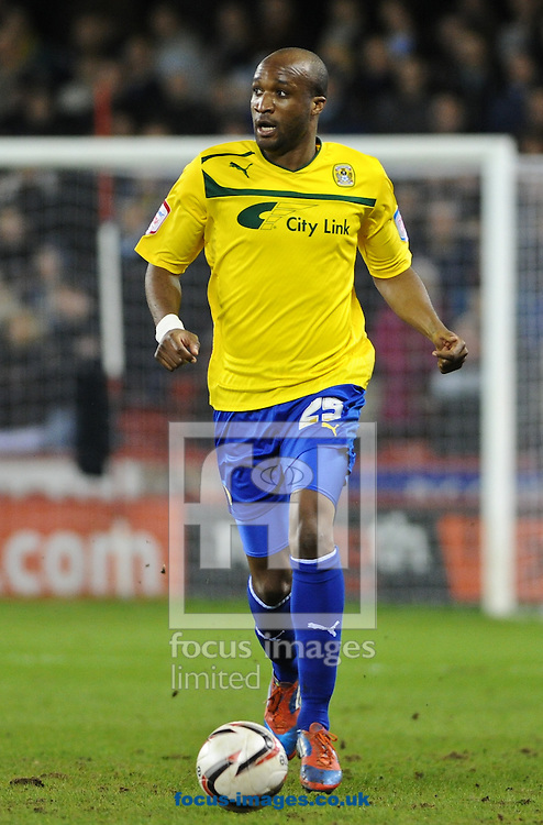 Picture by Richard Land/Focus Images Ltd +44 7713 507003.01/02/2013.William Edjenguele of Coventry City during the npower League 1 match at Bramall Lane, Sheffield.