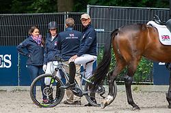 Dujardin Charlotte, Hester Carl<br /> European Championship Dressage<br /> Rotterdam 2019<br /> © Hippo Foto - Dirk Caremans