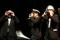 Mannheim. 11.02.18  <br /> Nationaltheater. Gro&szlig;e b&uuml;rgerschaftliche Auszeichnung &quot;Das Bloomaul&quot; an Rolf G&ouml;tz.<br /> Das Auswahlkomitee, darunter Bert Siegelmann, Achim Weizel und Marcus Haas, entschied sich f&uuml;r Rolf G&ouml;tz. Helen Heberer h&auml;lt die Laudatio.<br /> Bild-ID 063   Markus Pro&szlig;witz 11FEB18 / masterpress