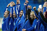Fotball, 15. oktober 2003, UEFA - cupen, 1 runde, Molde Stadion, Molde- UD Leiria, Magne Hoseth, Magnus Kihlberg, Molde