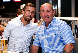 Gary O'Neil of Bristol City poses for a picture with a guest at the Lansdown Club event - Mandatory by-line: Robbie Stephenson/JMP - 06/09/2016 - GENERAL SPORT - Ashton Gate - Bristol, England - Lansdown Club -