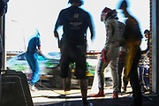 Team Parker Racing Bentley Continental GT3 pit stop during the British GT Championship at Snetterton Circuit. Photo: Jurek Biegus.