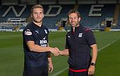Dundee FC new striker Benjamin Kallman 17-08-2018