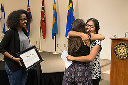 Spirit of Diversity Awards at Pacific Lutheran University on Friday May 13, 2016. (Photo/ Angelo Mejia '17)