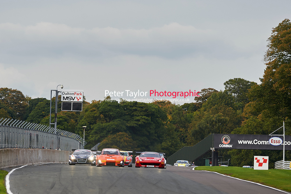 #5 Richard CHAMBERLAIN Porsche 935 during GT Cup - Race 2 as part of the MSVR Oulton Park 10th October 2015 at Oulton Park, Little Budworth, Cheshire, United Kingdom. October 10 2015. World Copyright Taylor/PSP. Copy of publication required for printed pictures.  Every used picture is fee-liable.