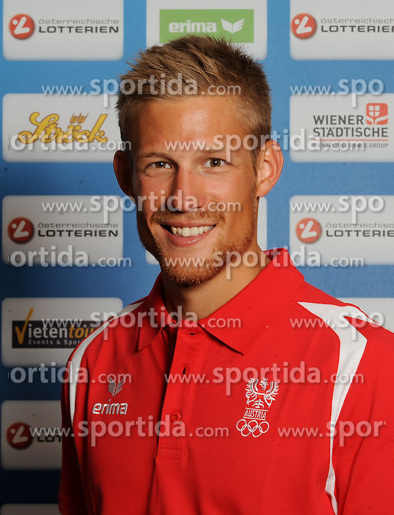 17.07.2016, Hotel Mariott, Wien, AUT, Olympia, Rio 2016, Einkleidung OeOC, im Bild Sieber Bernhard (Rudern) // during the outfitting of the Austrian National Olympic Committee for Rio 2016 at the Hotel Mariott in Wien, Austria on 2016/07/17. EXPA Pictures © 2016, PhotoCredit: EXPA/ Erich Spiess