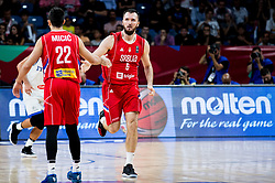 Milan Macvan of Serbia during basketball match between National Teams of Italy and Serbia at Day 14 in Round of 16 of the FIBA EuroBasket 2017 at Sinan Erdem Dome in Istanbul, Turkey on September 13, 2017. Photo by Vid Ponikvar / Sportida