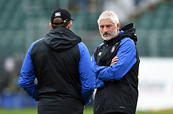 Bath Director of Rugby Todd Blackadder looks on during the pre-match warm-up - Mandatory byline: Patrick Khachfe/JMP - 07966 386802 - 22/09/2018 - RUGBY UNION - The Recreation Ground - Bath, England - Bath Rugby v Northampton Saints - Gallagher Premiership Rugby