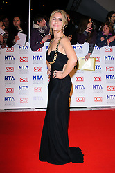 Heidi Range at the National Television Awards held in London on Wednesday, 25th January 2012. Photo by: i-Images