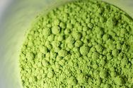 Green Tea powder 'Matcha' at the Ishinohana Bar Shibuya,Tokyo, Japan