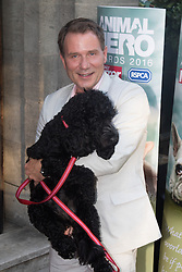 Grosvenor House Hotel, London, September 7th 2016. Celebrities attend the RSPCA's annual awards ceremony recognising the country's bravest animals and the individuals committed to improving their lives. PICTURED: Good Morning Britain's Richard Arnold