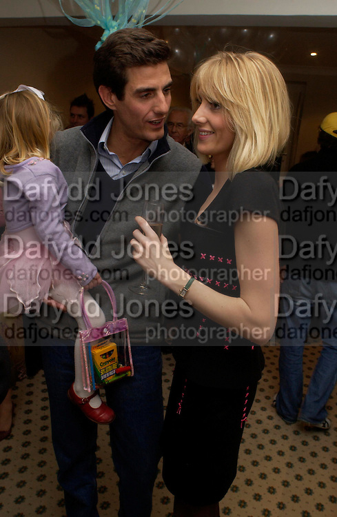 Lord Compton and his sister Lady Emily Compton, Chippi Hacki launch party.New children's clothes shop by Lady Emily Compton. 8 Motcomb St. London SW1. ONE TIME USE ONLY - DO NOT ARCHIVE  © Copyright Photograph by Dafydd Jones 66 Stockwell Park Rd. London SW9 0DA Tel 020 7733 0108 www.dafjones.com