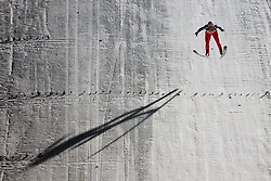 Mitja Meznar (SLO) competes during Final round of the FIS Ski Jumping World Cup event of the 58th Four Hills ski jumping tournament, on January 6, 2010 in Bischofshofen, Austria. (Photo by Vid Ponikvar / Sportida)