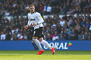Derby County forward Martyn Waghorn (9) during the EFL Sky Bet Championship match between Derby County and Rotherham United at the Pride Park, Derby, England on 30 March 2019.