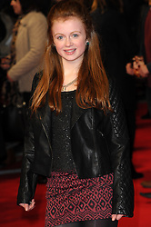 Maisie Smith attends  the UK premiere of 'A New York Winter's Tale' at The Odeon Kensington, London, United Kingdom. Thursday, 13th February 2014. Picture by Chris Joseph / i-Images
