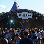London,England,UK : 17th July 2016 : Hundreds of music fans attends the Citadel Festival 2016 at Victoria Park, London,UK. Photo by See Li