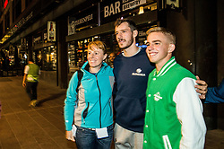 Goran Dragic of Slovenia at Fans' reception of Team Slovenia after the basketball match between National Teams of Slovenia and Greece at Day 4 of the FIBA EuroBasket 2017  in Teerenpeli bar, Helsinki, Finland on September 3, 2017. Photo by Vid Ponikvar / Sportida